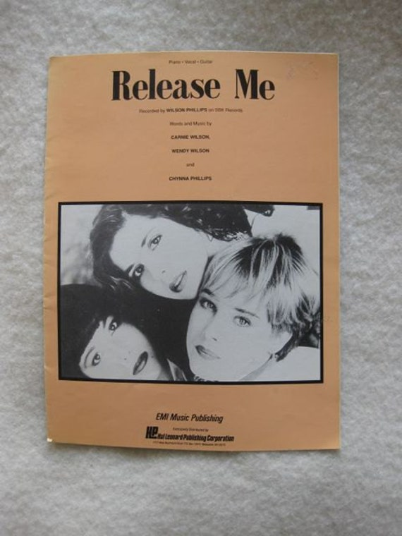 Release Me by Wilson Phillips Sheet Music