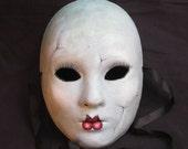 Broken Doll w/Eyelashes Full Face Mask 4