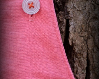 Coral Pink Linen - A Good Day OVERALLs