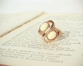 Gold Sarah Coventry Ring