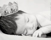 """Vintage """"Grace"""" Handmade Crown in Toddler/Child Size - 4 Color Choices - Photography Prop - Child - Toddler"""