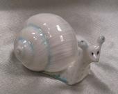 Garden Snail Ceramic Figurine