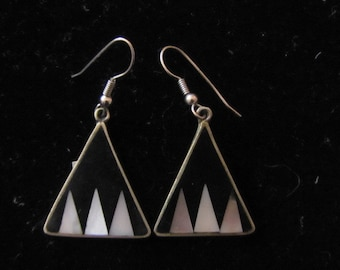 triangle shape earrnings