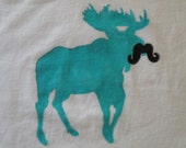 Moose with a Moustache