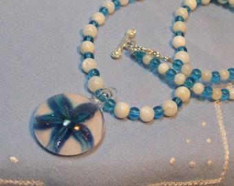 Teal Starfish Necklace *FUND RAISING ITEM*