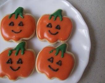 Mini Pumpkin Sugar Cookies, 3 dozen