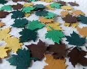 Leaf Die Cut Confetti Fall Colors 100