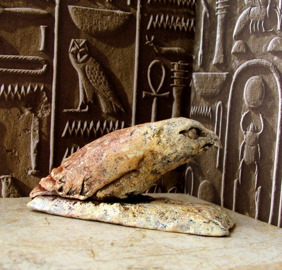 Ba Bird Votive - Egyptian Keeper of the Soul - Home Altar Statue