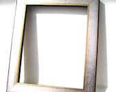 Metallic Silver Gold Wood Frame - Contemporary Art Photo Frame Moulding