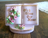 China Planter by L'Amour - Book  Decor - God Bless Our Home