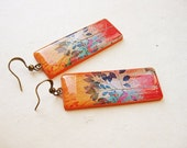 FREE WORLDWIDE SHIPPING - Tree Colorful Clay Earrings
