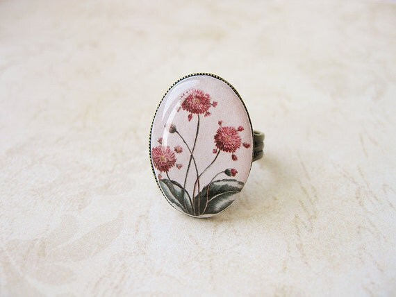 FREE WORLDWIDE SHIPPING - Vintage Flowers Ring