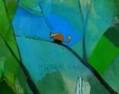 Squirrel print of original painting