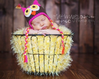 Yellow Mini Blanket Baby Prop. 2x2 Photo Prop Baby 'Duckling' Photography Infant Prop Newborn Rug