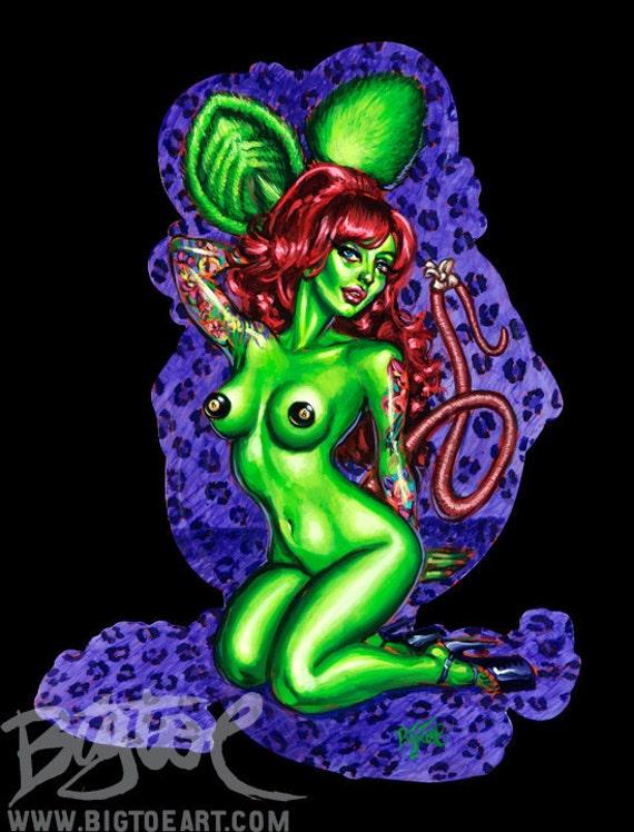 BigToe's Vixen Fink Art Print