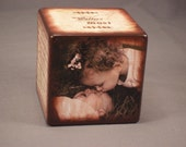 Wooden Photo Block for Wedding, Engagements, Baby, Family, Graduation........