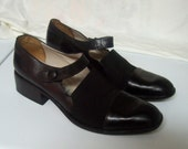 Via Spiga Mary Jane Shoes 7AA Italy ALICE IN WONDERLAND