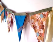 Vintage Fabric Garland Bunting