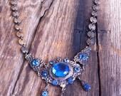 antique Edwardian necklace / 1910s jewelry / LADY MARY