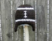 Custom Order for nana3333 -- Are You Ready for Some Football Earflap Hat -- Warm and Cozy