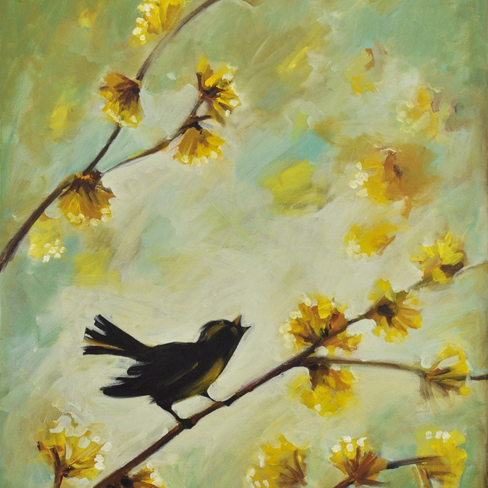 Bird paintings modern - photo#9