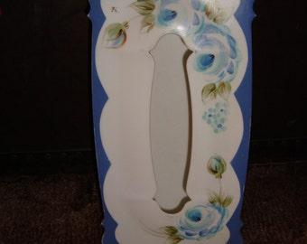 Light blue kleenex box