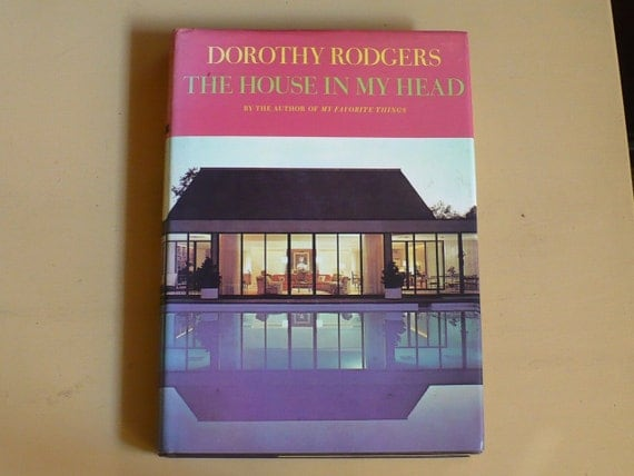 Book Mid Century Decor,The House in my Head 1950