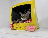 Upcycled Television Pet Bed