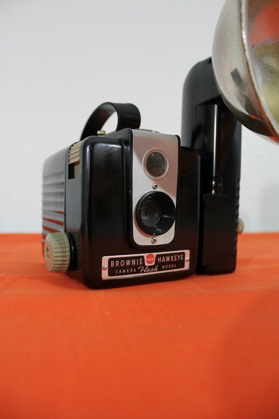 Kodak Brownie Hawkeye Camera with Flash