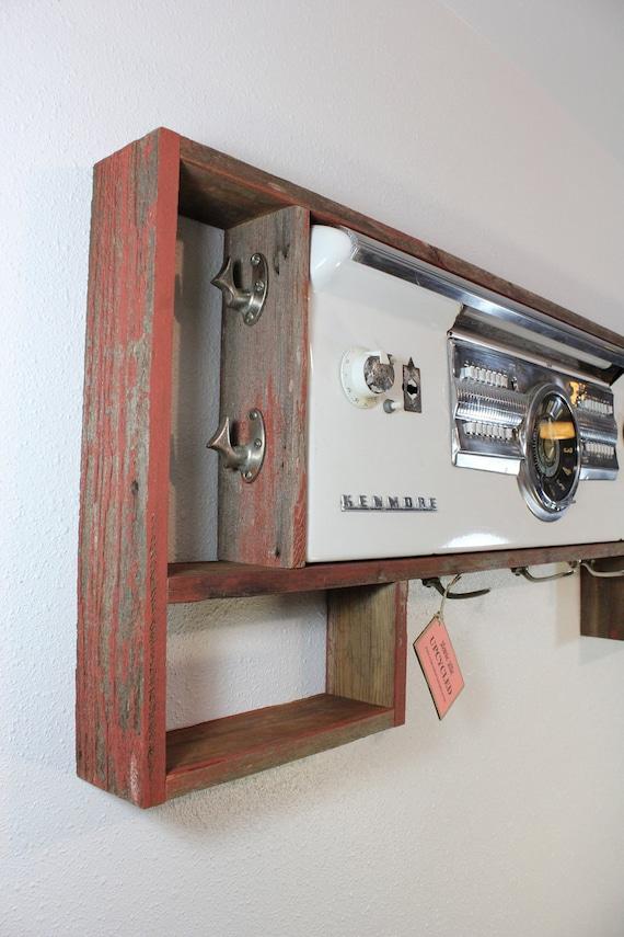 Upcycled Reclaimed Barn Wood Coat Rack