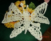 Butterfly Doily / Applique (016)