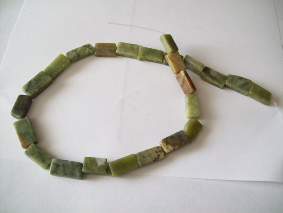 Serpentine stone beads 1/2 strands by TheSupplyShack1 on Etsy