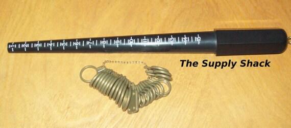 Ring Mandrel and Finger Sizer Set