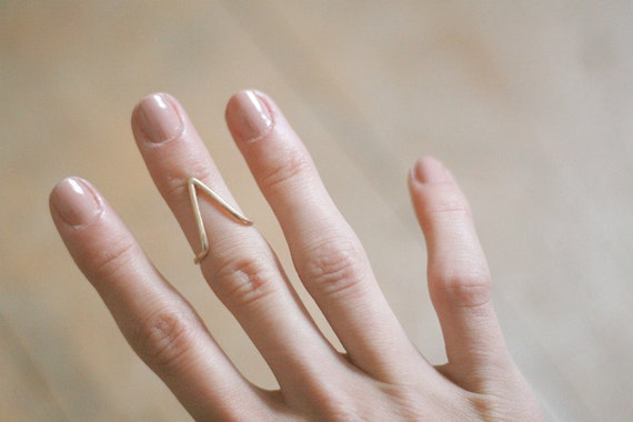 The Mountain upper finger ring