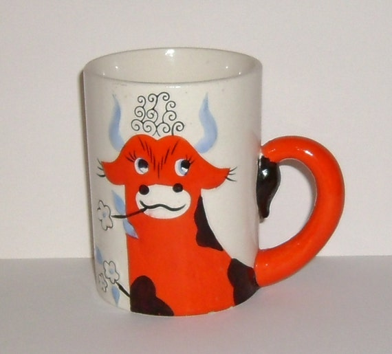 Vintage 1963 Holt Howard Ferdinand The Bull Coffee Cup Mug