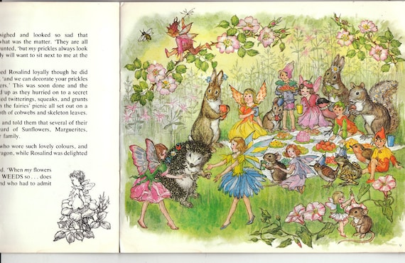 The Runaway Fairy, by Molly Brett, Vintage Softcover Book from The Medici Society, 1982