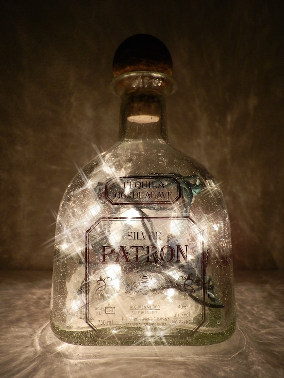 Patron Tequila Lighted Bottle