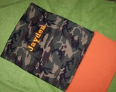Items Similar To Custom Nap Mat Cover Shown In Camo Fabric