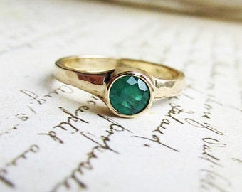 Emerald and Gold Ring, by James Christian