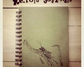 Recycled Book Journal: Cricket