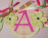 It's A Girl Banner - for Hospital or Home Announcement - Baby Shower
