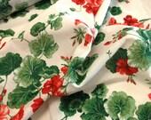 Pretty Geranium Cotton