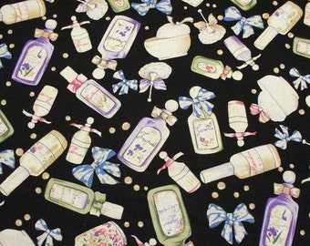 Perfume Bottle Cotton Fabric