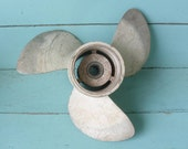 Nautical Decor Old Propeller From Boat Motor Decor For Lake Cabin Beach Cottage