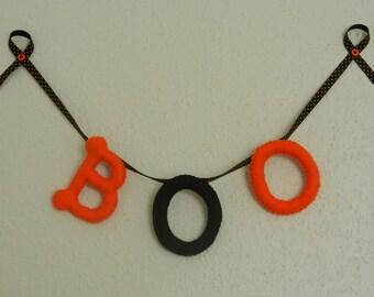 "Halloween ""Boo"" Banner"
