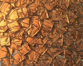 500 VAN GOGH MOSAIC TILES BRONZE HANDCUT GLASS TILE