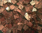 100 VAN GOGH MOSAIC TILES COPPER HANDCUT GLASS TILE