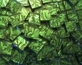 500 Van gogh Mosaic tiles Emerald green handcut glass tile