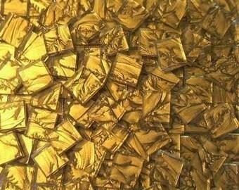 100 Van Gogh Mosaic tiles gold handcut glass tile
