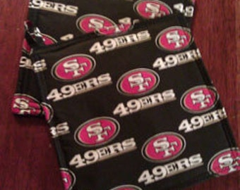49ers pot holders ,and additional  NFL designs